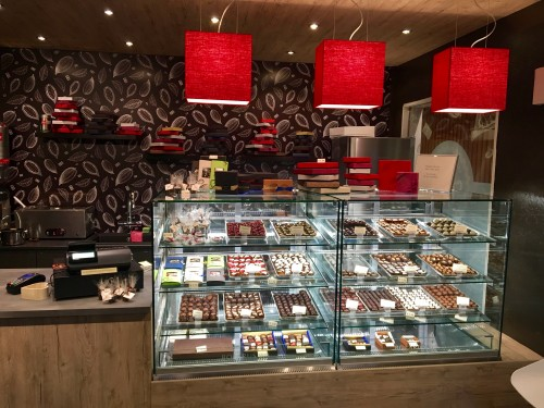 Handmade Chocolates Café